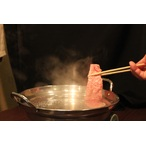 お鍋で湯通しお口の中でとろけます